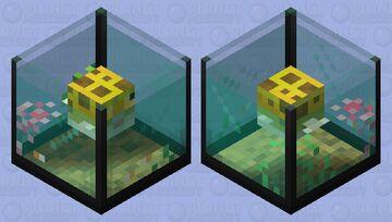 Pufferfish Aquarium Minecraft Mob Skin