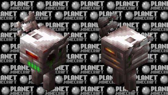 Piglin Attack Robot Minecraft Skin