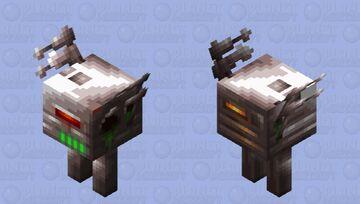 Piglin Attack Robot Minecraft Mob Skin