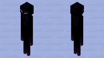 Stylized Enderman Minecraft Mob Skin