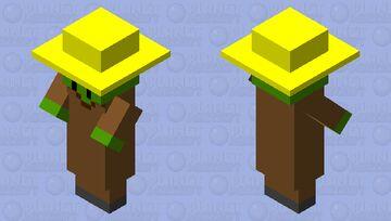 1.14 creeper villager Minecraft Mob Skin