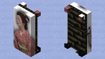 Naoko Ken Body Pillow Minecraft Mob Skin