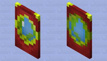 PMC cape (BETTER IN 3D) Minecraft Mob Skin