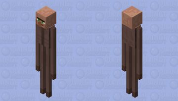 Long villager Minecraft Mob Skin