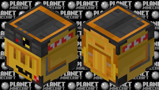 WALL-E (Box) Minecraft Skin