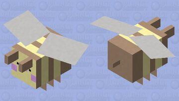 Sweet Bee Minecraft Mob Skin