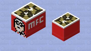 Fried Chicken Bucket Minecraft Mob Skin