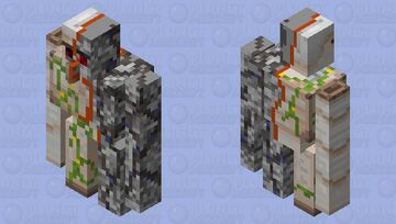 Terminator Golem (Request) Minecraft Mob Skin