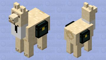 Llamadad with Ender Chests Minecraft Mob Skin