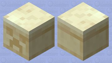 Chiseled Sandstone Elemental Minecraft Mob Skin