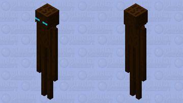 Soul Sand Enderman Minecraft Mob Skin