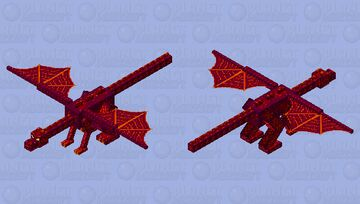 The repaired dragon Minecraft Mob Skin