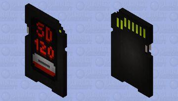 SD card 120 TB Minecraft Mob Skin