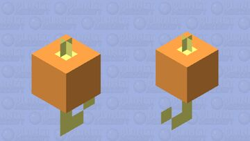 that fishing bobber we all use as kids Minecraft Mob Skin