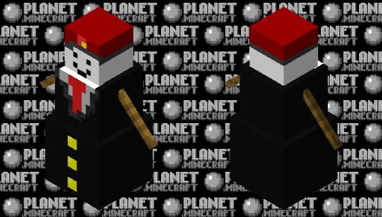 Russian Business Golem Minecraft Skin