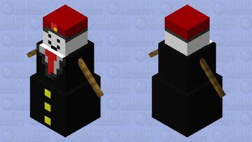 Russian Business Golem Minecraft Mob Skin