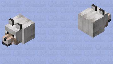 wolf mask (cursed) Minecraft Mob Skin