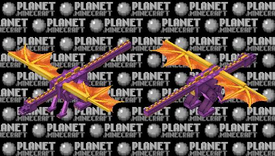 Spyro (Adult) Minecraft Skin