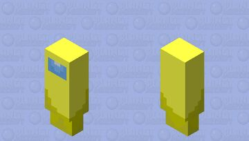 Sus yellow Minecraft Mob Skin