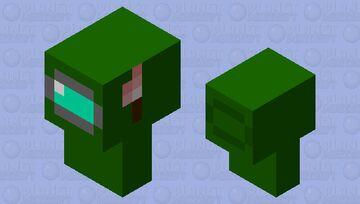 어몽어스 임포스터(among us imposter) Minecraft Mob Skin