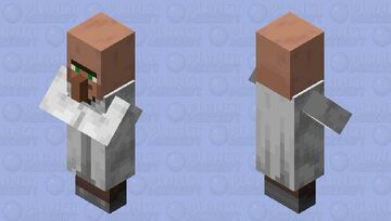 Texture Update Old Librarian Minecraft Mob Skin