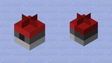 pokeball Minecraft Mob Skin