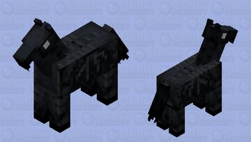 Thestral Minecraft Mob Skin