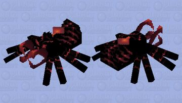 Fat red scorpion Minecraft Mob Skin