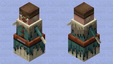 village archer /eskimo fletcher Minecraft Mob Skin
