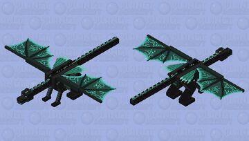 Ice dragon Minecraft Mob Skin
