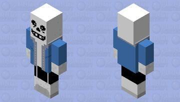 Sans Evoker Minecraft Mob Skin