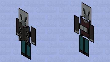 Paper Vindicator Minecraft Mob Skin