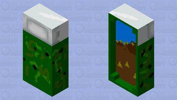Military Sleeping Bag Minecraft Mob Skin
