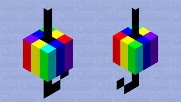 Rainbow Fishing Bobber Minecraft Mob Skin
