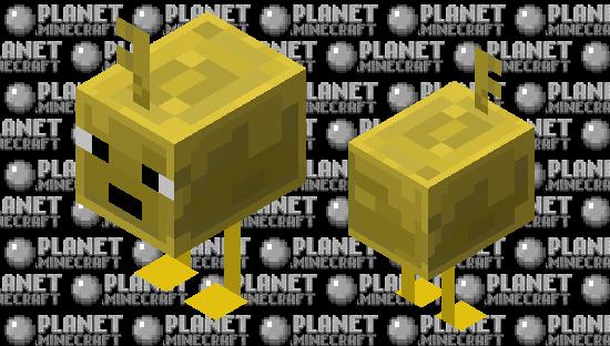 Minecraft Dungeons - Key Golem Minecraft Skin
