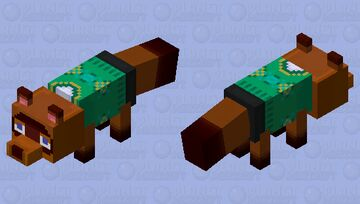 Tom Nook Animal Crossing Minecraft Mob Skin