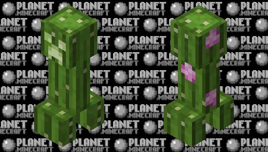 Cactus Creeper Minecraft Skin