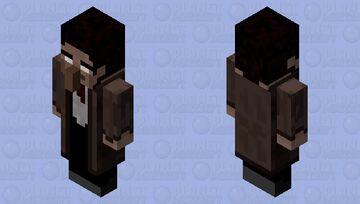 Creepy Guy in Trenchcoat Minecraft Mob Skin