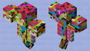 Confetti Wither Minecraft Mob Skin