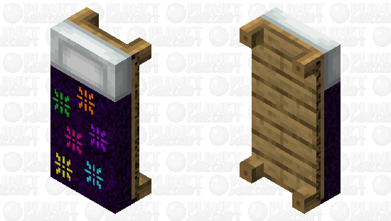 Starburst Bed Minecraft Skin