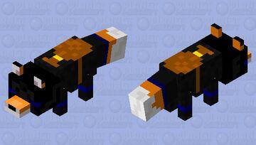 Criminal fox Minecraft Mob Skin