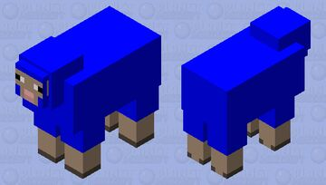 Council of Water Sheep Elder #2 Minecraft Mob Skin