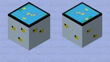 Fish tank ghast Minecraft Mob Skin