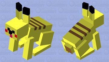 Pikachu (pokemob's) Minecraft Mob Skin