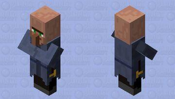 Monk (Villager profession) Minecraft Mob Skin