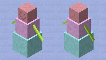Shaved Ice Golem Minecraft Mob Skin