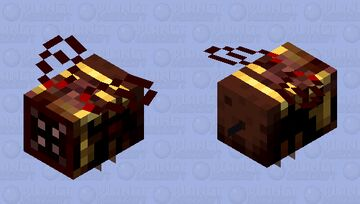 Totally normal bee Minecraft Mob Skin