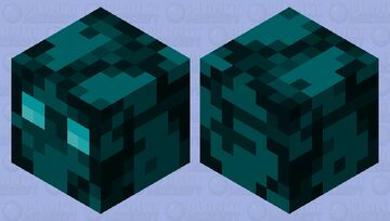Frozen Cube Minecraft Mob Skin