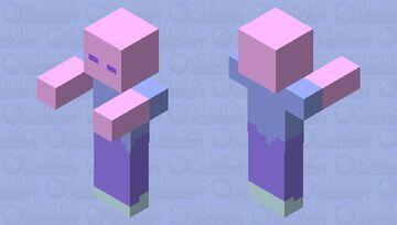 retro zombe Minecraft Mob Skin