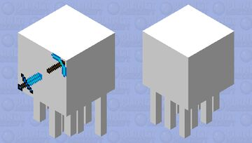tool ghast Minecraft Mob Skin